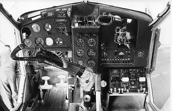 Beaver NZ6010 Cockpit in 1959