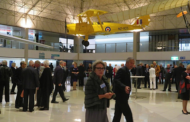 2019  Reunion at AirForce Museum: Beneath the Tiger (Moth)