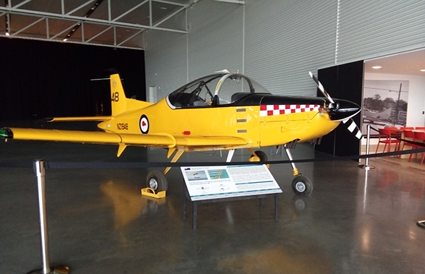2019 Reunion at AirForce Museum: RNZAF's Puddle-Jumping Trainer