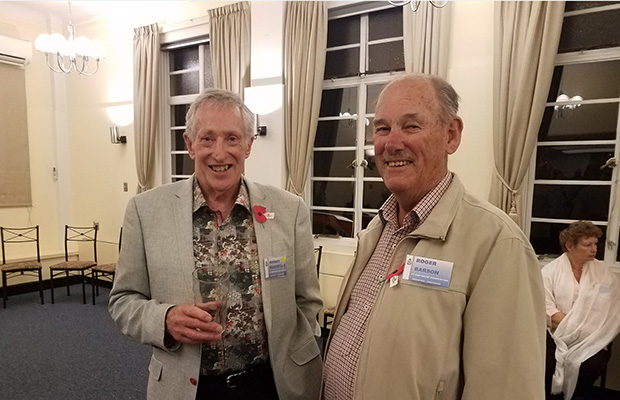2019 Reunion at AirForce Museum: Rod Bracefield & Roger Barson